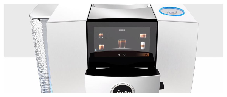 Jura Z10 koffiemachine touchscreen