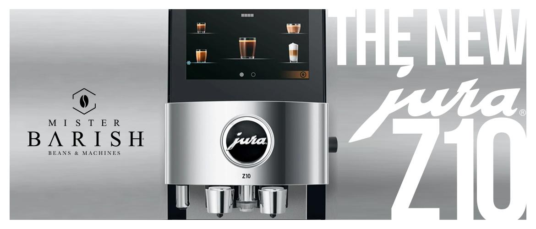 Jura Z10 is de krachtigste en meest revolutionaire hot & cold volautomatische koffiemachine