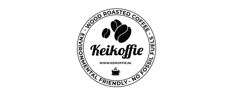 Koffiebranderij Keikoffie, brandt uitsluitend op hout