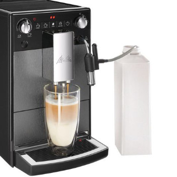 Melitta Avanza koffiemachine melkbereidingen
