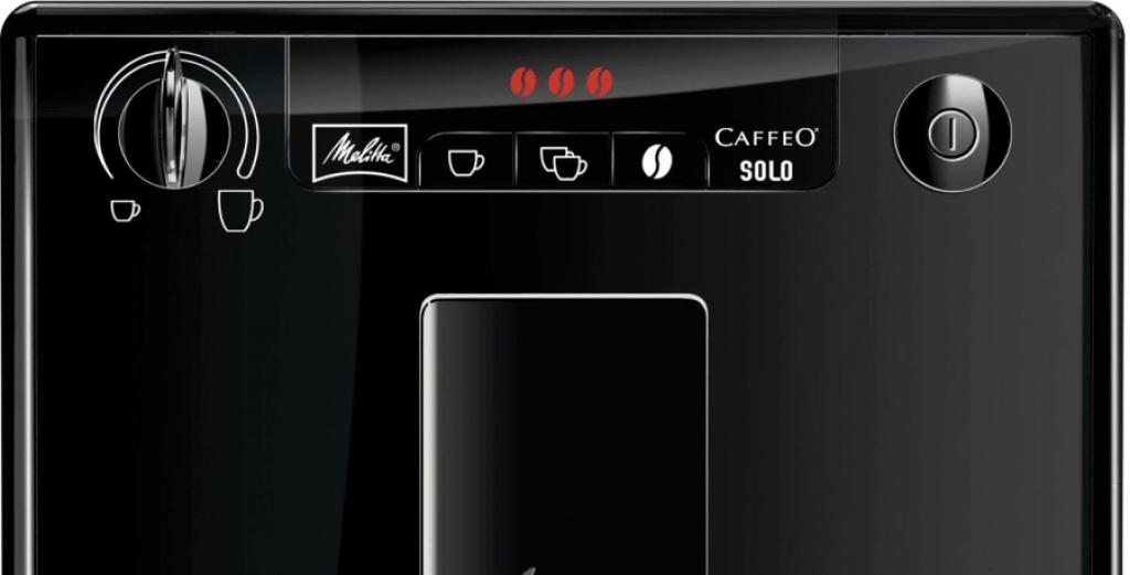 Melitta Caffeo Solo display