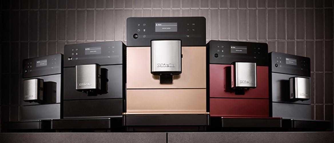De Miele CM 5000 serie heeft professionele koffiemachines voor koffieliefhebbers met een kleiner budget