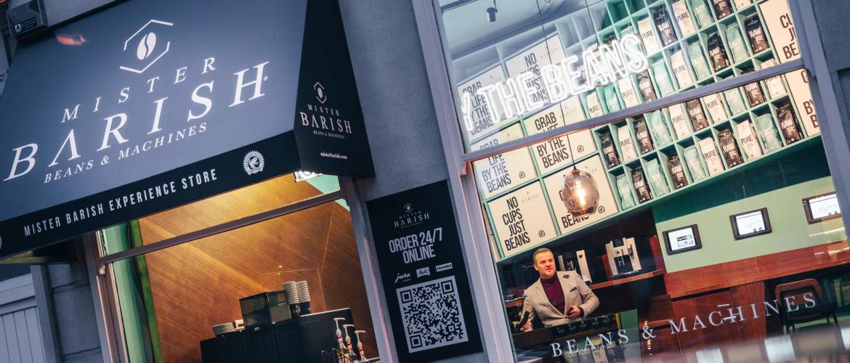 De Mister Barish Experience Store, een koffiebar met een twist!