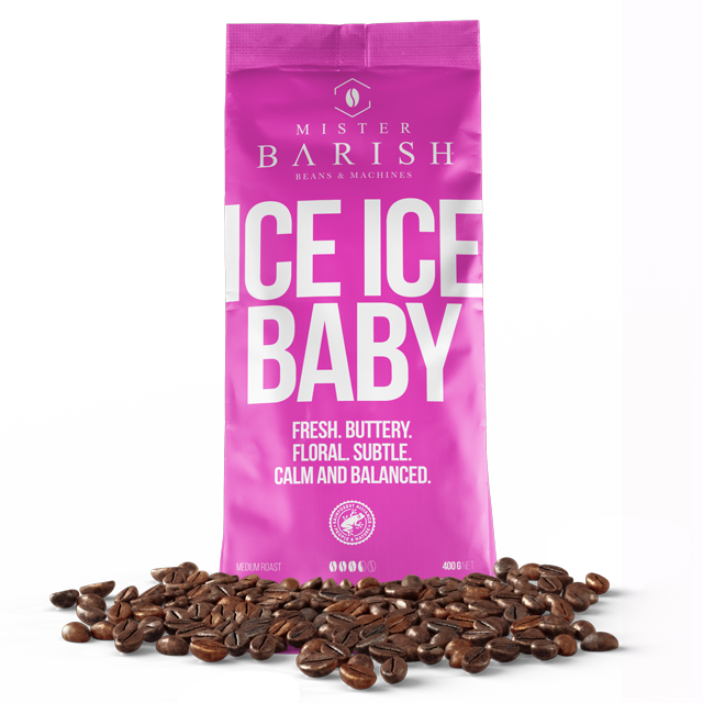 Mister Barish Ice Ice Baby koffiebonen