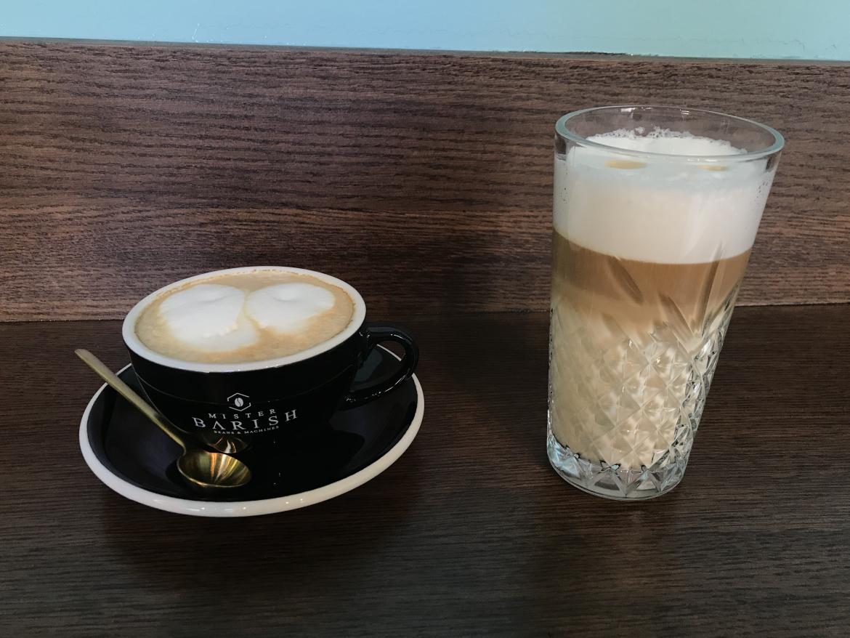 Mister Barish Latte Macchiato en Cappuccino