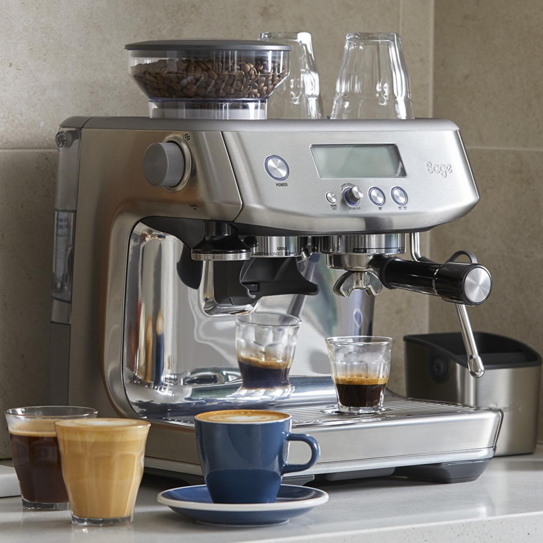Sage Barista Pro koffiedranken