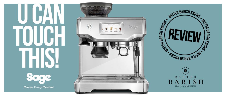 Sage Barista Touch: de krachtigste espressomachine in het Barista-gamma