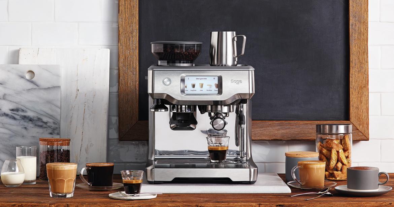Sage Barista Touch koffiedranken