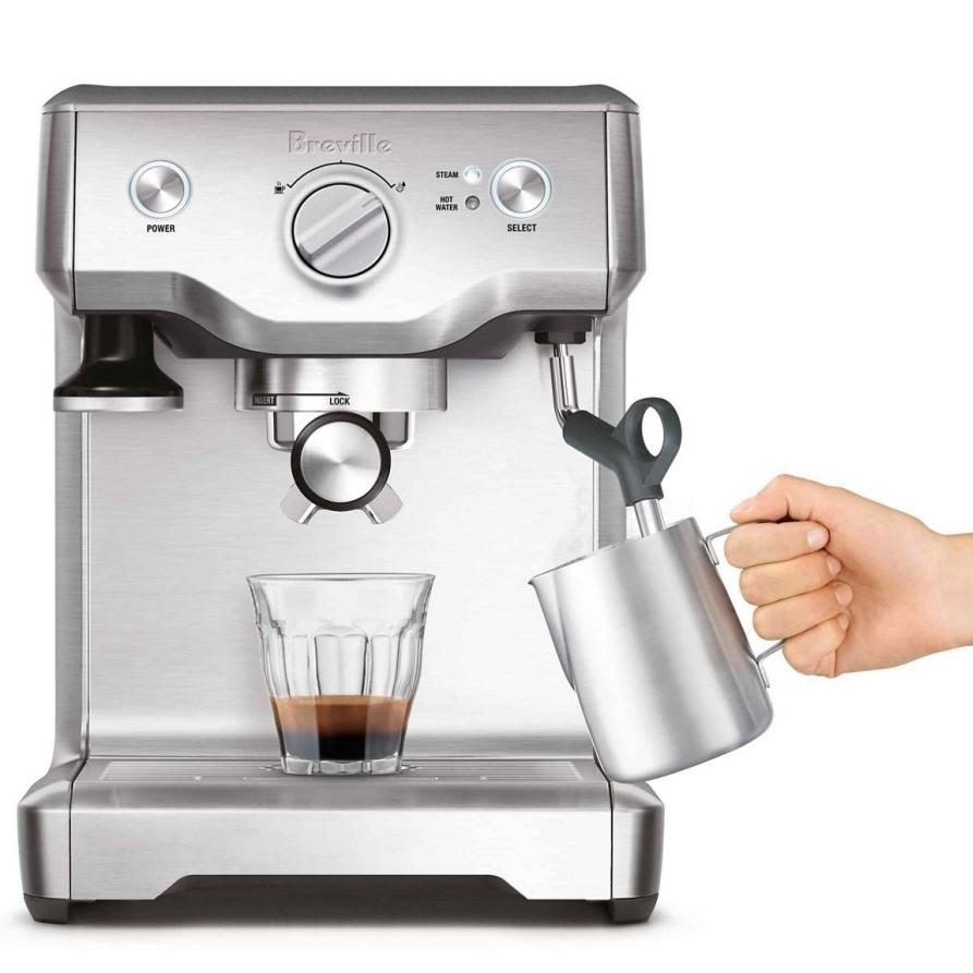 Sage Duo Temp Pro koffiedranken