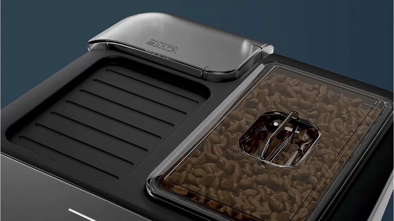 Siemens EQ300 koffiemachine koffiebonenreservoir