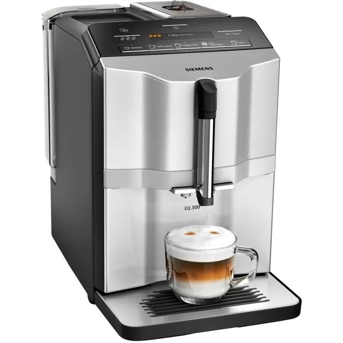 Siemens EQ300 koffiemachine zilver