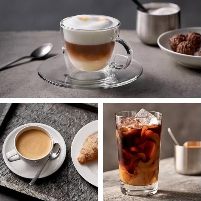 Siemens EQ500 koffiemachine koffiedranken