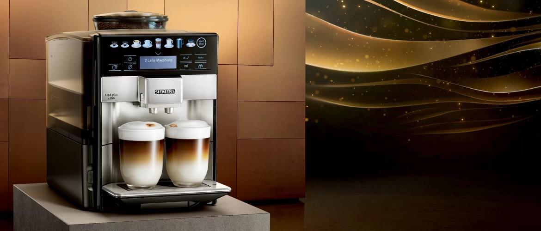 Siemens EQ6 plus: volautomatische koffiemachines voor wie net dat ietsje meer wil