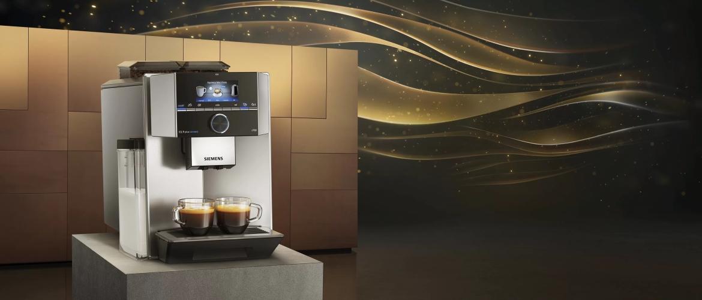 Siemens EQ.9: fluisterstille en innovatieve volautomatische koffiemachines voor de echte koffieliefhebber