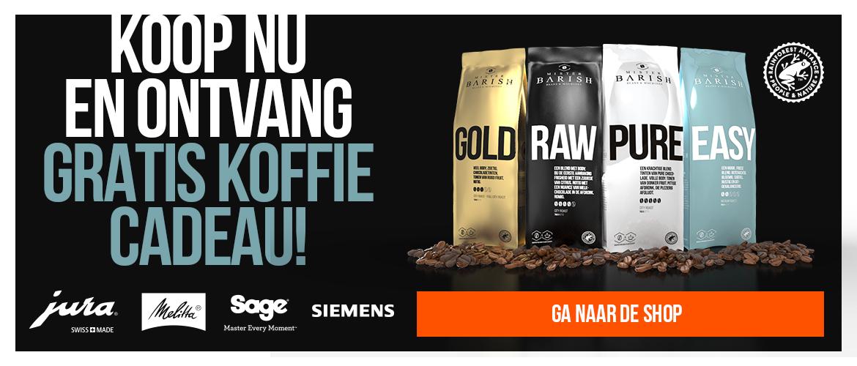 Siemens koffiemachine koffie cadeau