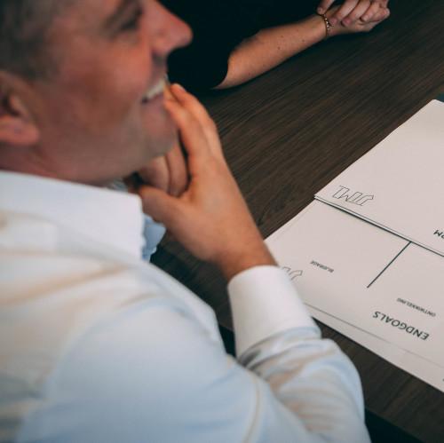 Jordi Meuwissen, business mentor, hebben we geholpen met zijn nieuwe positionering