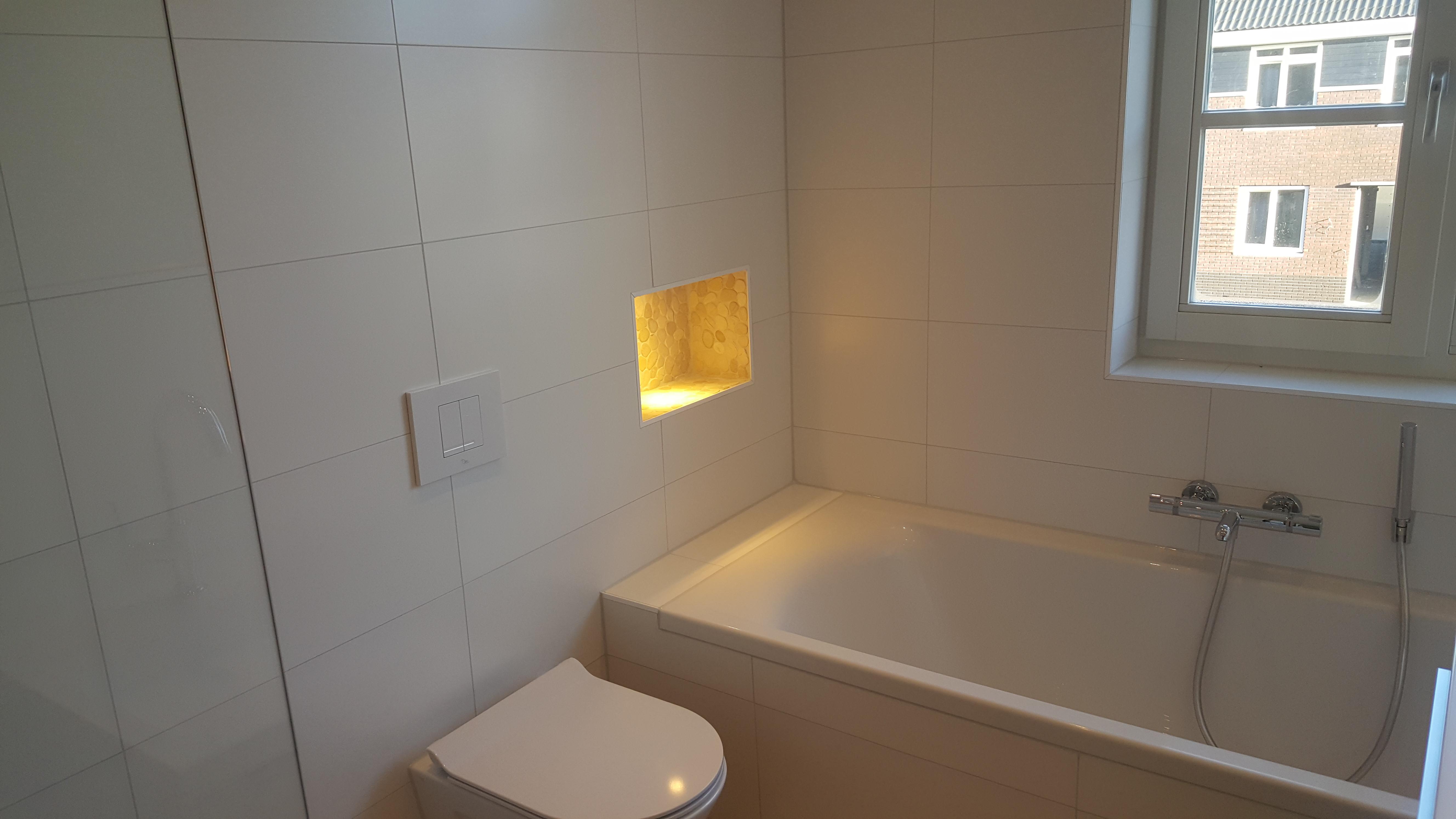 Alles voor nieuwe badkamer tegelwerk en sanitair in groningen for Hoeveel kost een nieuwe badkamer gemiddeld