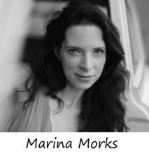 Copywriter Marina Morks