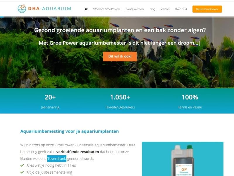 DHA Aquarium Groeipower