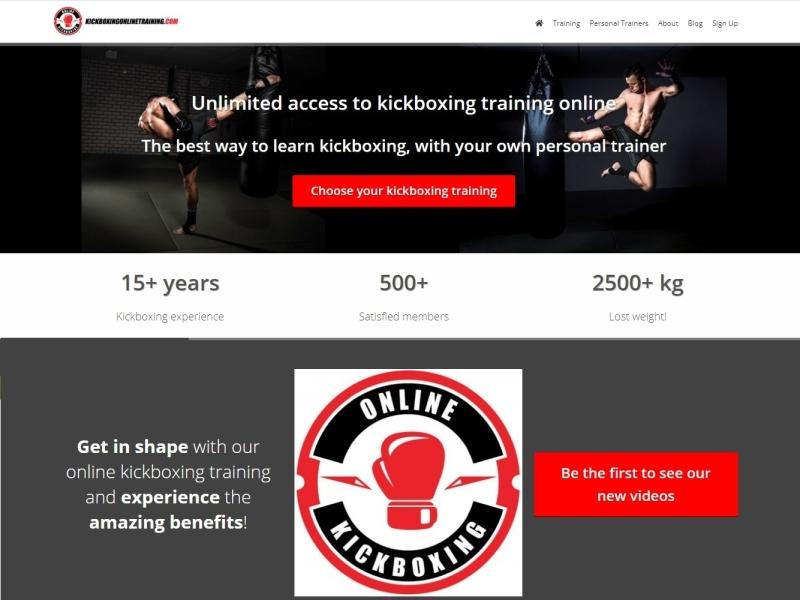 Kickboxing online training