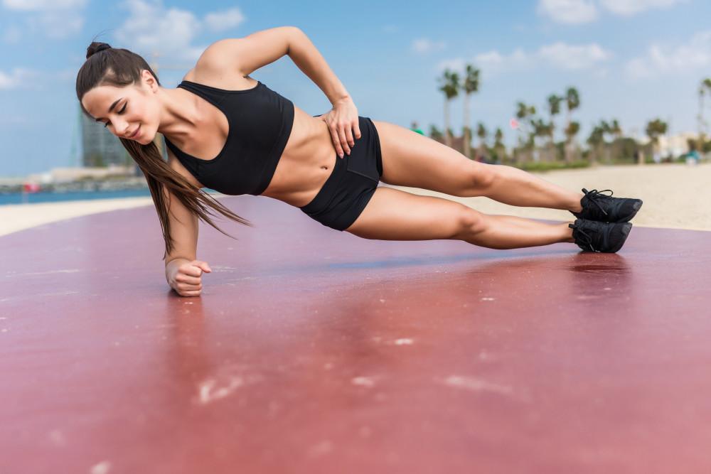 Side plank - Motivatieservice