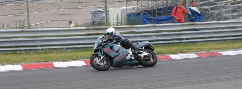 Rob op normale motor op circuit Zandvoort