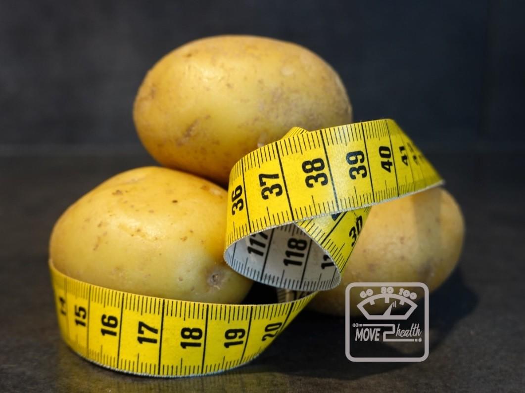 Word je dik van aardappelen