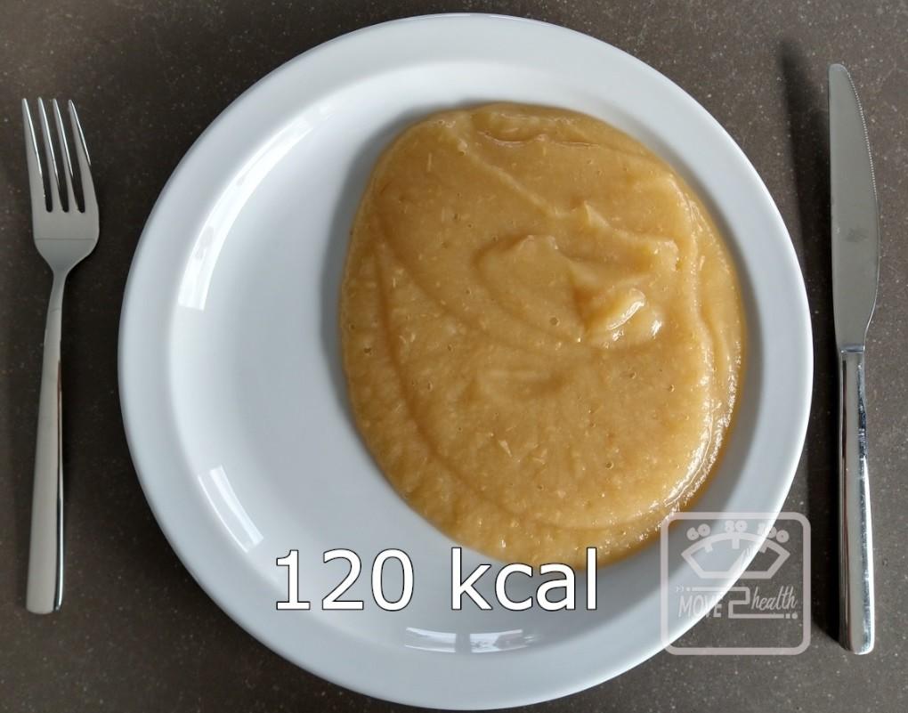 appelmoes gezond caloriearm recept portie 120 kcal afvallen