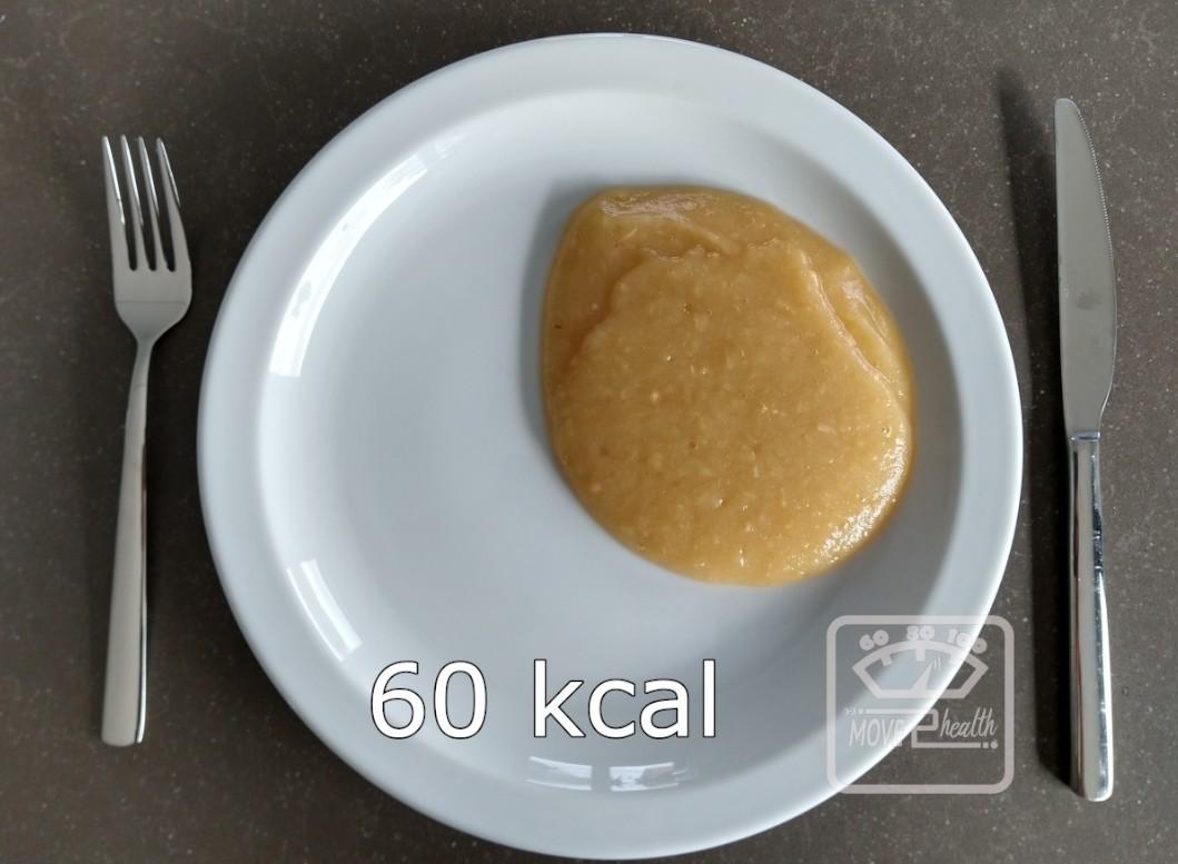 appelmoes gezond caloriearm recept portie 60 kcal afvallen