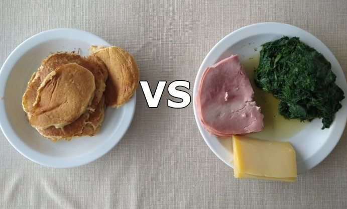 keto dieet vs gebalanceerd dieet