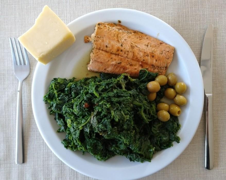 keto dieet avondmaal voorbeeld recept