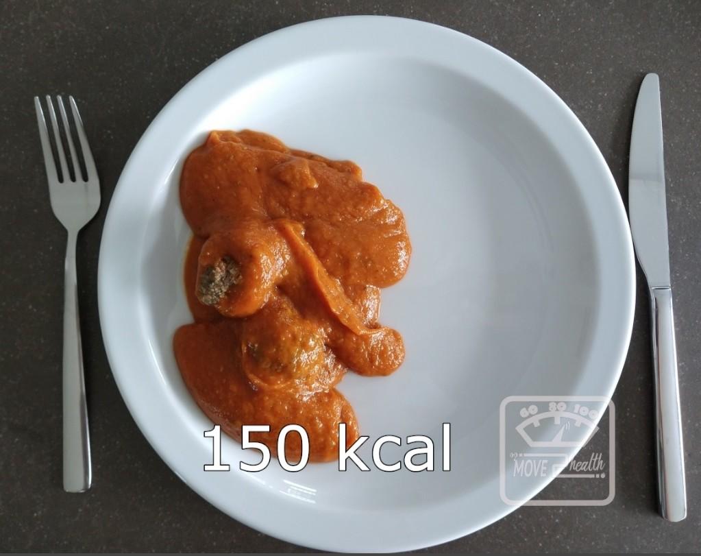 gehaktballetjes met tomatensaus rundergehakt 300 kcal portie voedingswaarde