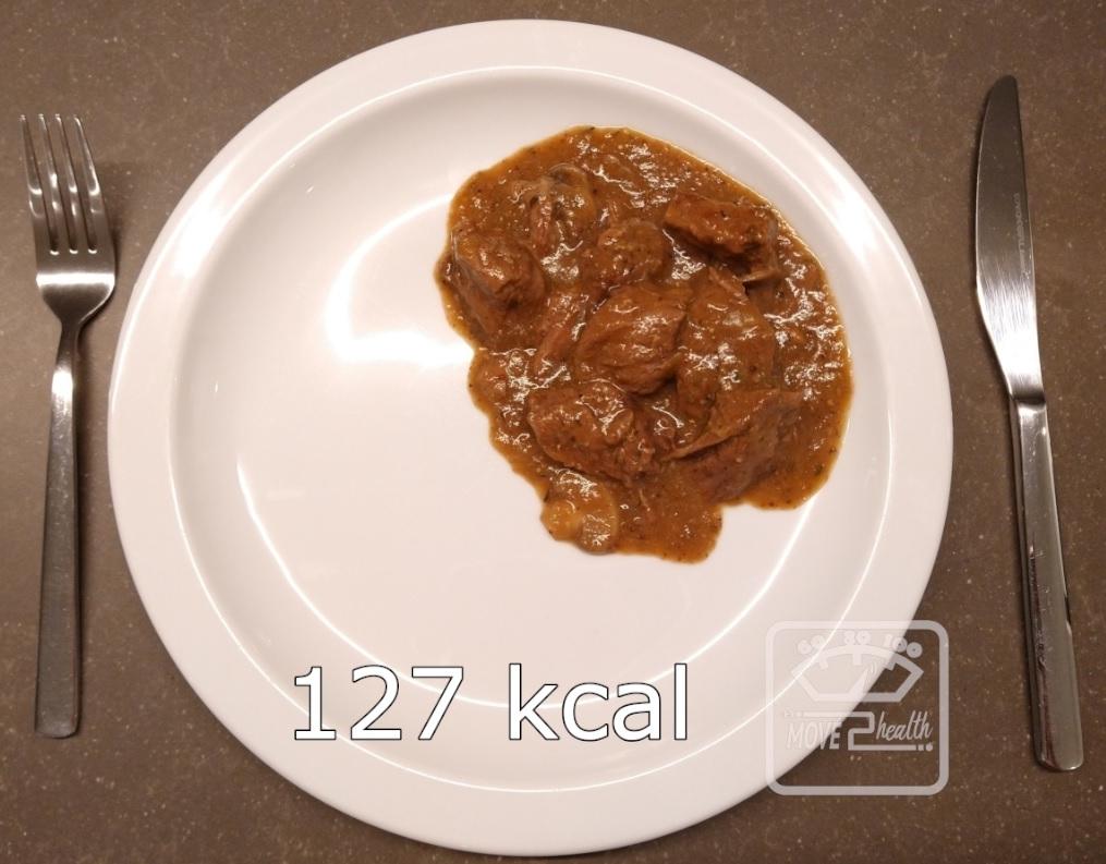 gezond stoofvlees recept 127 kcal portie caloriearm