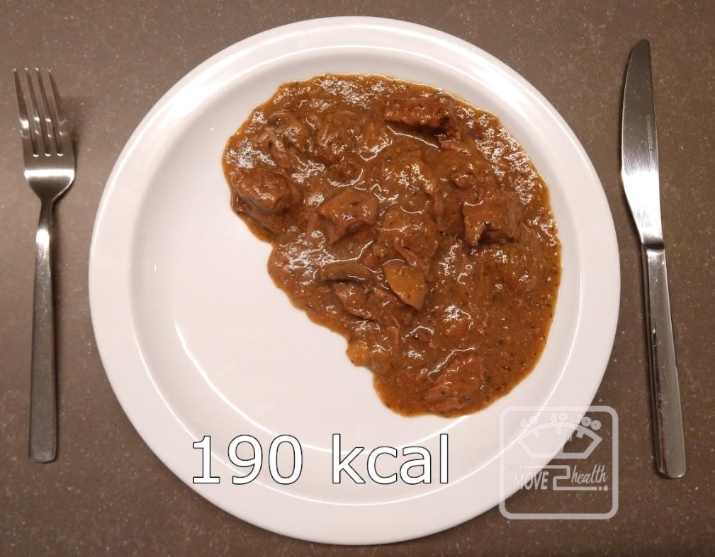 gezond stoofvlees recept 190 kcal portie caloriearm