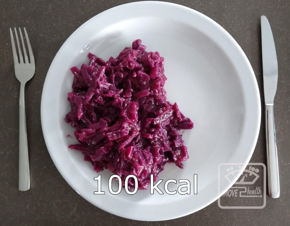 gezonde rode kool met appel recept zonder suiker portie 100 kcal
