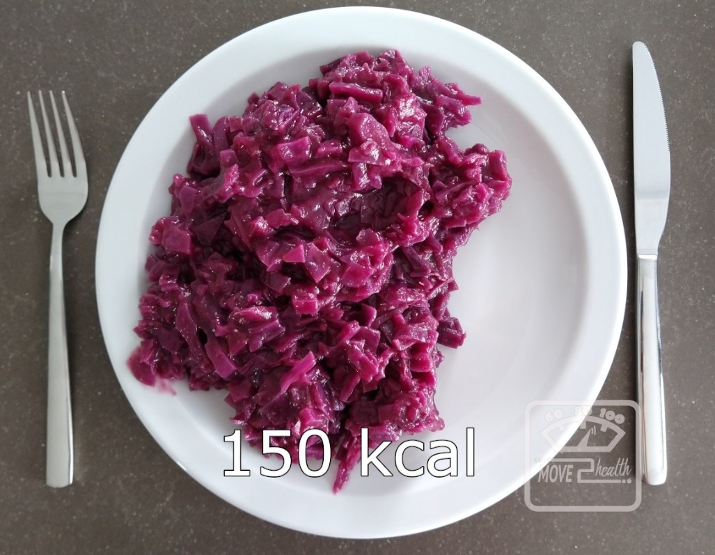 gezonde rode kool met appel recept zonder suiker portie 150 kcal