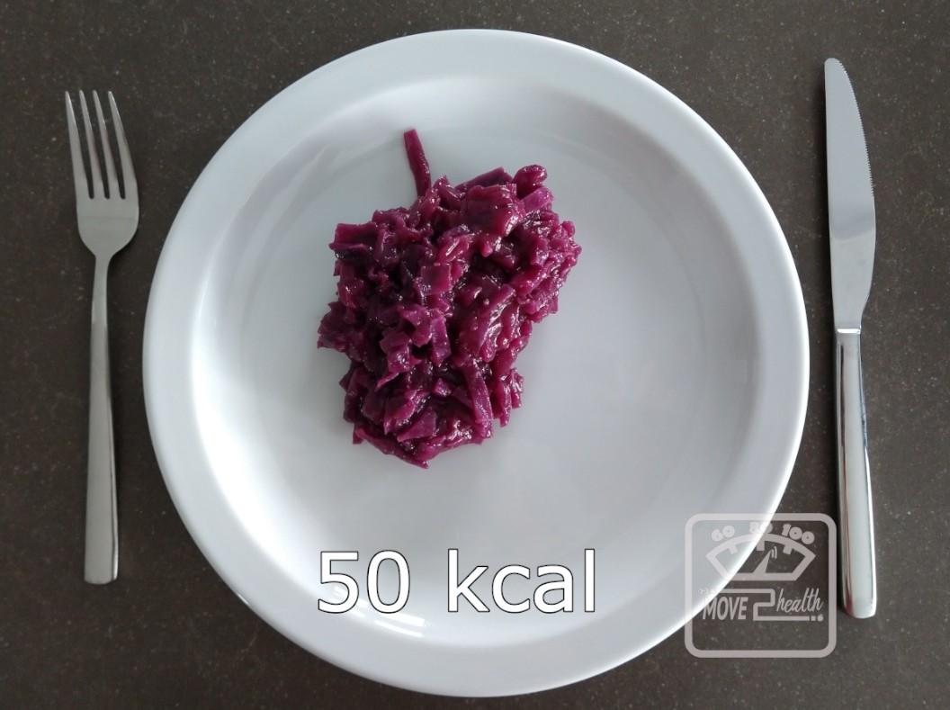gezonde rode kool met appel recept zonder suiker portie 50 kcal