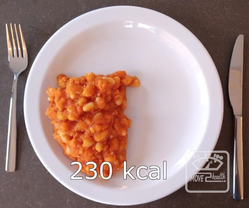 gezonde witte bonen tomatensaus caloriearm recept 230 kcal portie