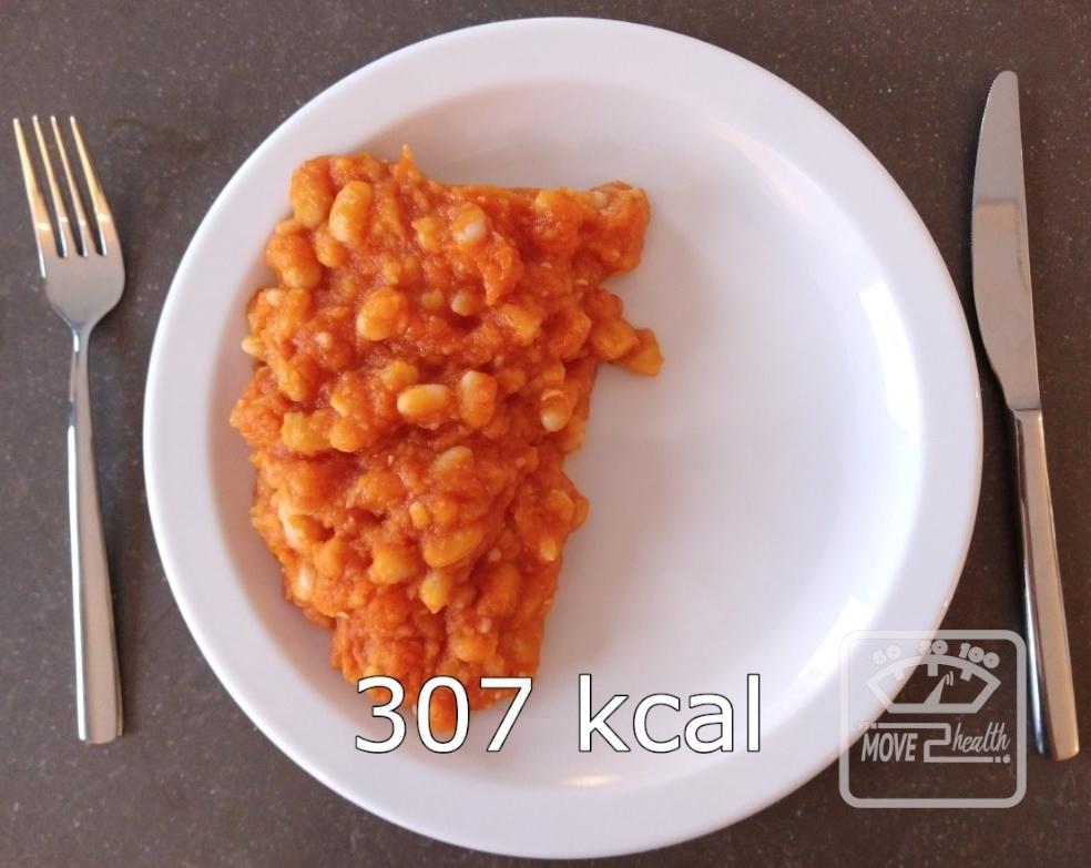 gezonde witte bonen tomatensaus caloriearm recept 307 kcal portie