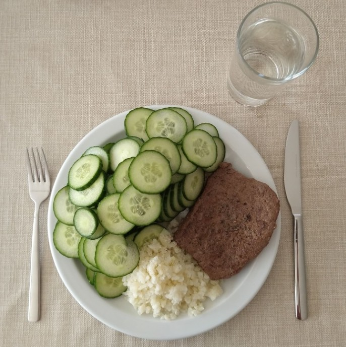 keto dieet middagmaal voorbeeld