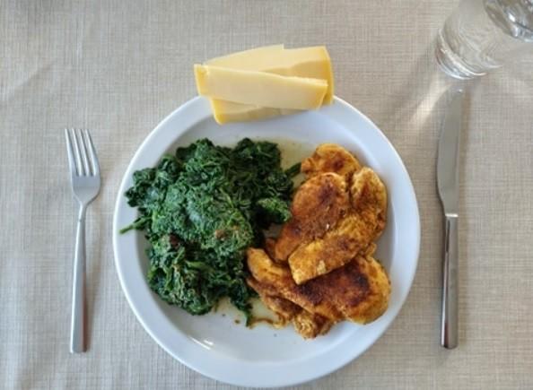 ketogeen dieet avondmaal voorbeeld