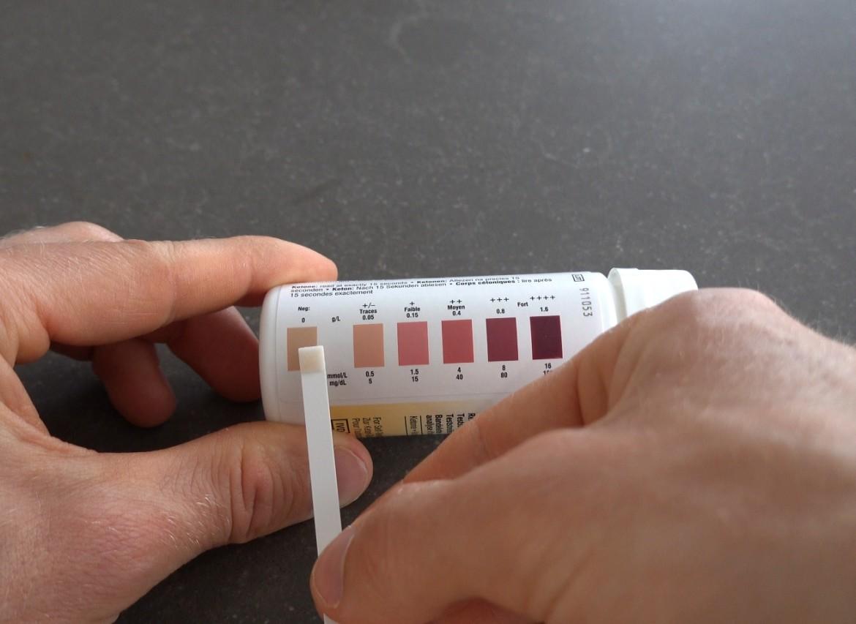 ketostix test negatief ervaring