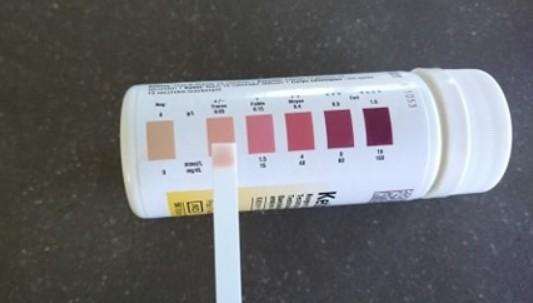 ketostix test ketogeen dieet