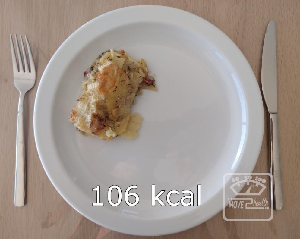 Tartiflette gezond voedingswaarde 106 kcal