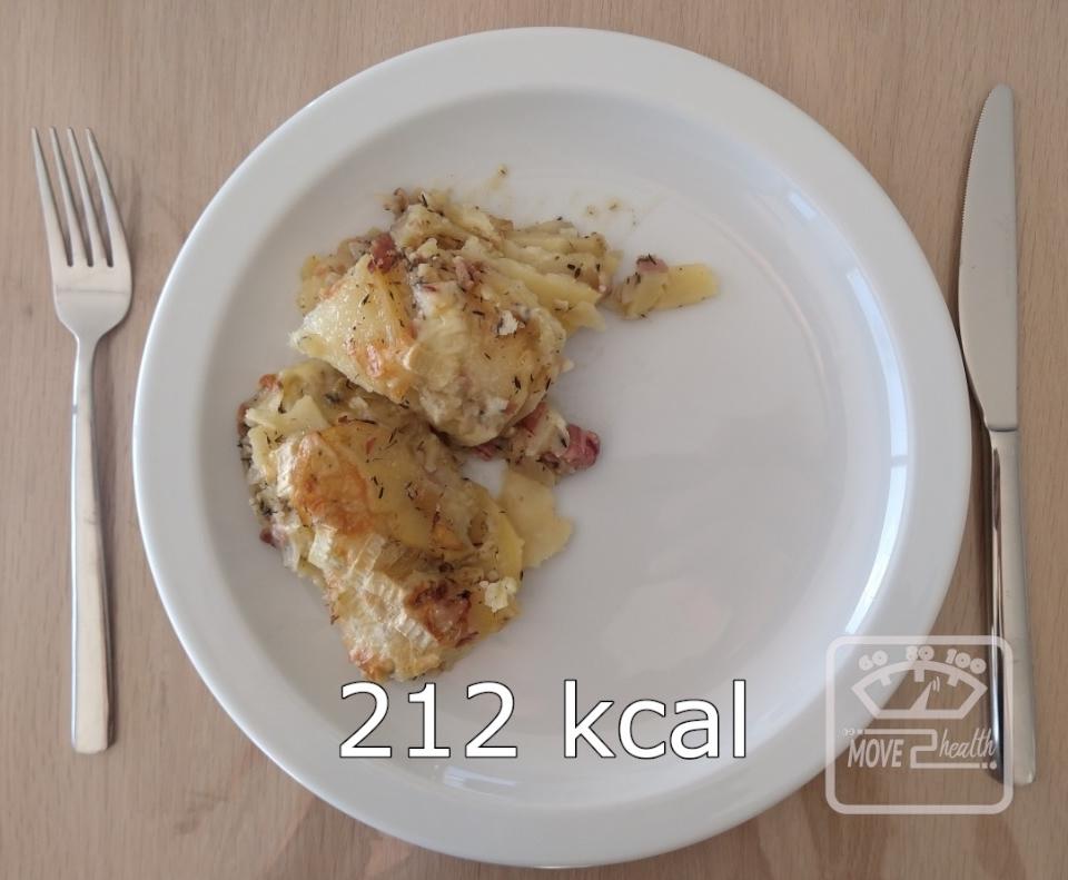Tartiflette gezond voedingswaarde 212 kcal