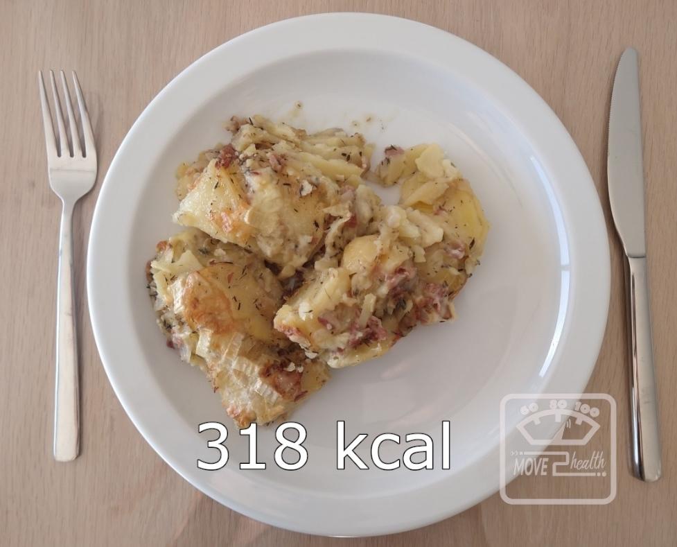 Tartiflette gezond voedingswaarde 318 kcal
