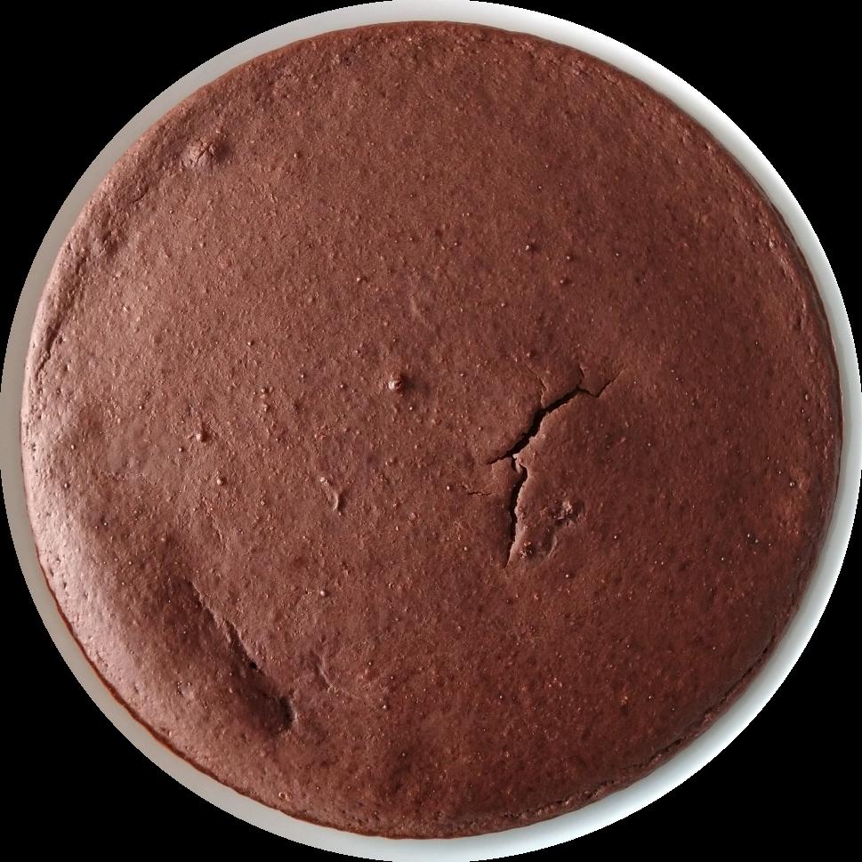 vezelrijke chocoladetaart met zoetstof voedingswaarde