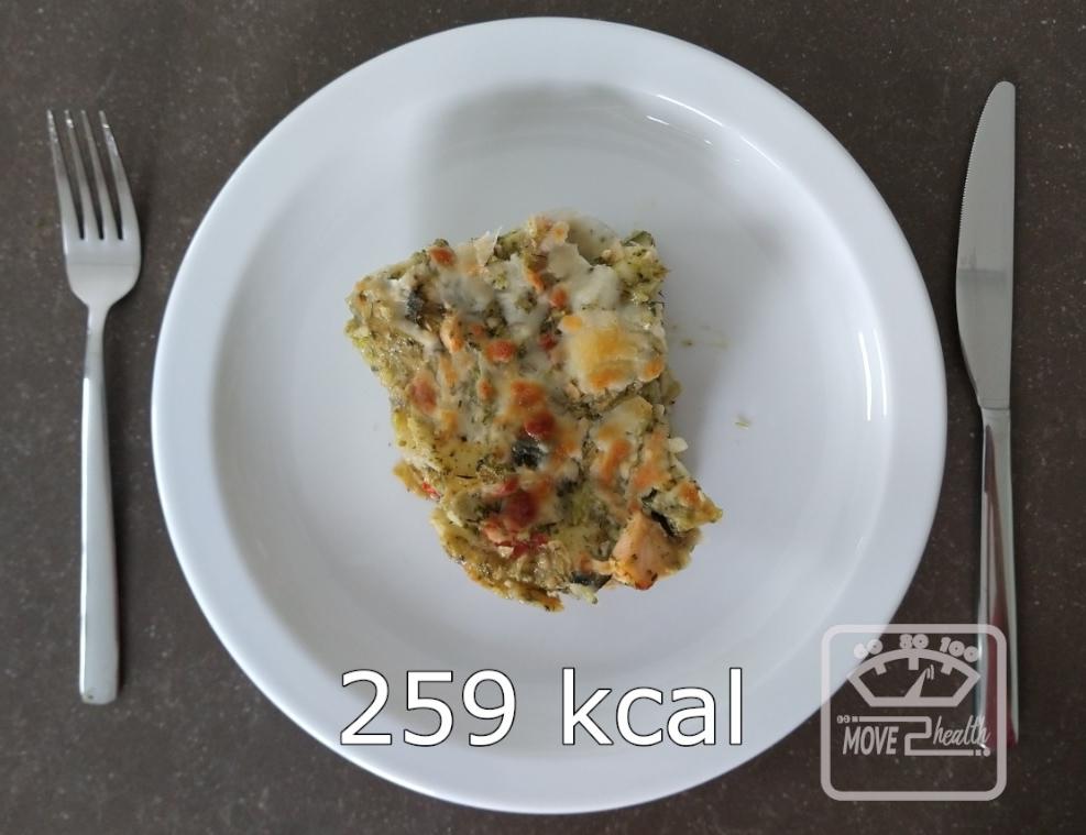 vislasagne met broccoli recept 259 kcal portie gezond afvallen