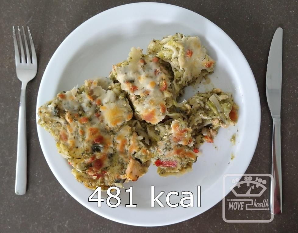 vislasagne met broccoli recept 481 kcal portie gezond afvallen