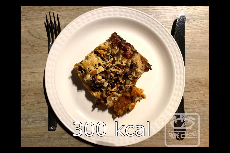 Pompoenlasagne 300 kcal